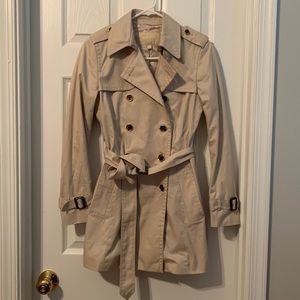 NWOT Banana Republic Trench Coat